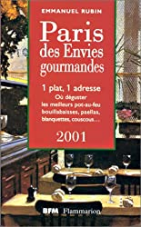 Le Paris des envies gourmandes 2001