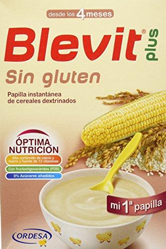 Blevit Plus Sin Gluten Cereales - 300 gr