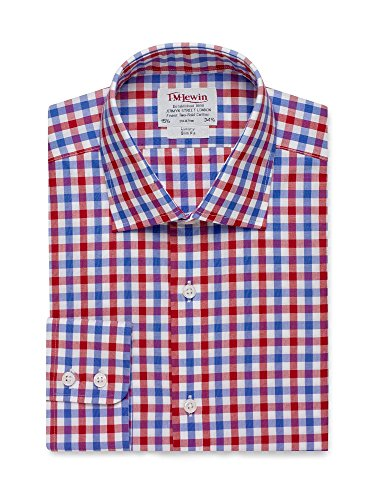tmlewin-mens-slim-fit-red-blue-check-poplin-shirt-15