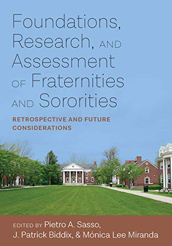 Foundations, Research, and Ass (Culture and Society in Higher Education)