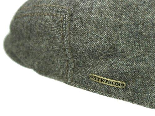 Casquette Woodfield en Coton Stetson bonnets type gavroche bonnets avec visiere Marron