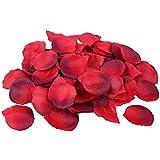 S/O Petali di rosa in seta, 500 pz, bordeaux (0177)