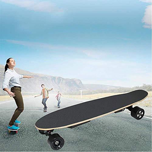 YUN GAME@ Elektro-Skateboard, Allradantrieb Elektro-Fisch E-Skateboard-Transport mit drahtloser Hand-Fernbedienung*