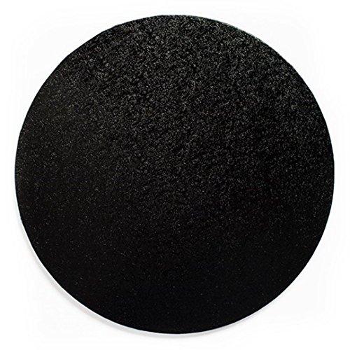 Tambour à gâteau rond Noir 35,6 cm