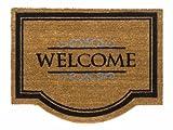 HMT 188000 Classic Welcome Felpudo Arena-de 60 x 80 cm