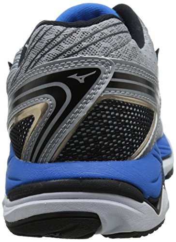 Mizuno Wave Paradox 2 Synthétique Chaussure de Course Grey-Black-Blue