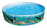 Intex Kinderpool Snap-Set-Pool Ocean Reef, Mehrfarbig, Ø 183 x 38 cm