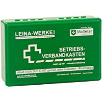 LEINA Betriebsverbandkasten, Inhalt DIN 13157, grün preisvergleich bei billige-tabletten.eu
