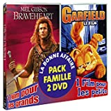 Braveheart ; garfield - le film