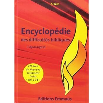 Encyclopédie des difficultés bibliques V8 l'Apocalypse - CD-ROM du Nouveau Testament Inclus