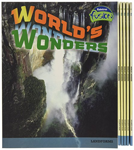 Fusion: World's Wonders HB (Raintree Fusion: Geography)
