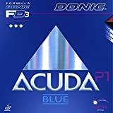 DONIC Belag Acuda Blue P1, 1,8 mm, schwarz