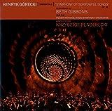 Symphony no. 3. Symphony of sorrowful songs, op. 38/ | Gorecki, Henryk Mikolaj (1933-2010). Compositeur