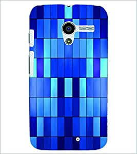 PRINTSWAG RECTANGLE PATTERN Designer Back Cover Case for MOTOROLA MOTO X