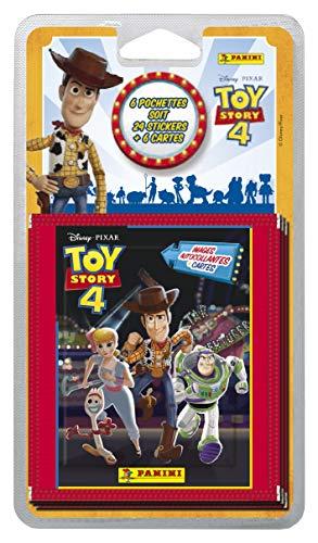 Panini France SA SA- 6 Pochettes Toy Story 4, 2512-038