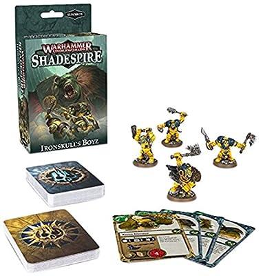 Games Workshop Jeux Atelier 60120709001Ironskulls Boyz Warhammer Underworlds?: Shadespire d'extension de Jeu