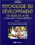 Psychologie du développement - Les âges de la vie