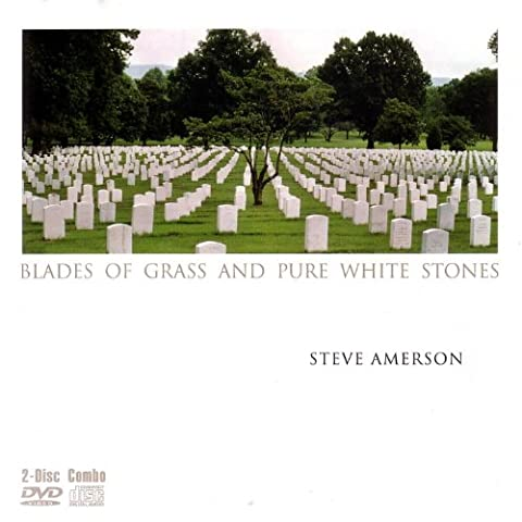 Blades Of Grass And Pure White Stone