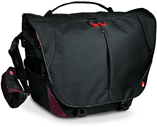 Manfrotto Pro Light Messenger-Tasche Bumblebee M-30 grau/rot (Pl 30)