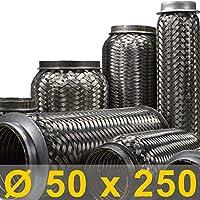 mm Auspuff Flexrohr Hosenrohr Katalysator Ø 45 x 250 Länge
