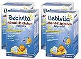 Bebivita Abend-Fläschchen - nach dem 6. Monat, 4er Pack (4 x 600g)