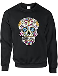 Tim and Ted Le Jour des Morts Sweat-Shirt Mexicaine de crâne de Sucre fc948cdb8e1