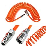 mark8shop 6m 8mmx5mm Flexible Recoil Schlauch Schlauch Spring Tube für Compressor Air Tool