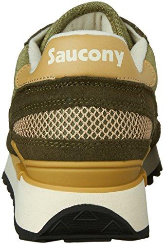 Saucony Shadow Original, Scarpe da Ginnastica Basse Uomo Verde