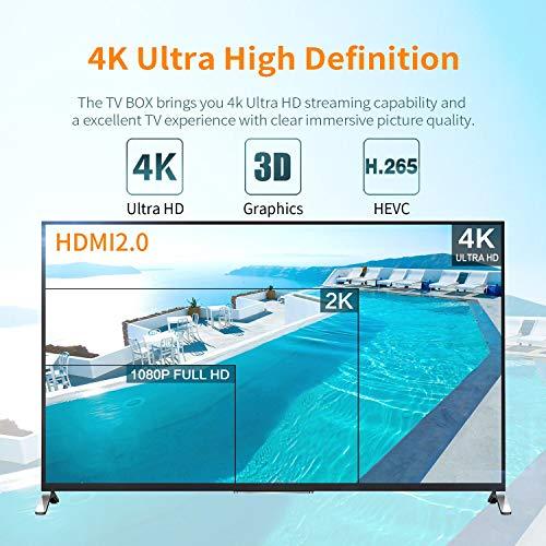 Zoom IMG-3 bqeel tv box android 9