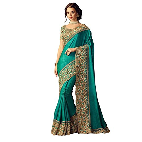 Mansi Tex Women's Chiffon Saree With Blouse Piece (Zy-284_Multicolor)