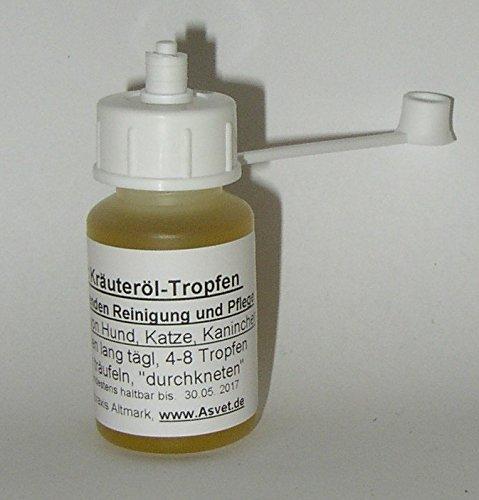 Ohrmilben ? Kräuter-Tropfen der Marke Asvet, pflegen und reinigen, Chemie-frei