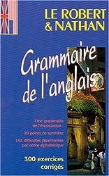 Le Robert et Nathan, grammaire de l'anglais