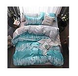 The Unbelievable Dream Baumwolle | Bettbezug | Bettlaken | Kopfkissenbezug | Bettwäsche | einfach | niedlich | Kinder | kreativ | aus China |, C, Königin