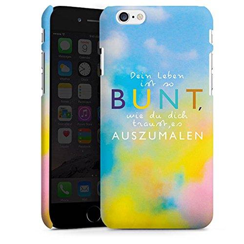 Apple iPhone X Silikon Hülle Case Schutzhülle Visual Statements Motivation Spruch Premium Case matt