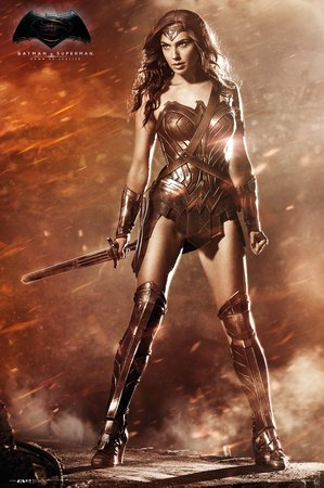 Batman v Superman - Wonder Woman -