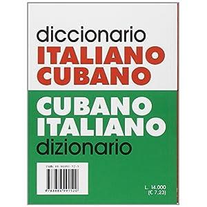 Dizionario italiano-cubano, cubano-italiano