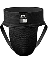 McDavid 2-Pack Athletic Supporter With Quick Dry Stretch Mesh Pouch, Black, XL