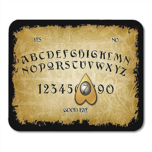 Mouse Pads Fire Ouija Board Game Heart Keyboard Spirit Spiritualism Mouse pad 25 X 30 CM
