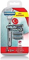 Gillette Mach3 Turbo Milli Takım Özel Paketi Tıraş Makinesi Ve 4 Adet Yedek Tıraş Bıçağı