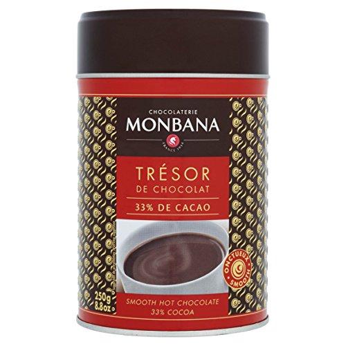 Chocolat Monbana en poudre 'Trésor de Chocolat' - Boîte 250g