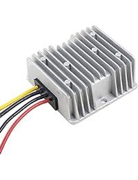 sourcingmap® DC 12V 24V (8V ~ 40V) a DC 6V 15A 90W impermeable Regulador de la fuente de alimentación del convertidor