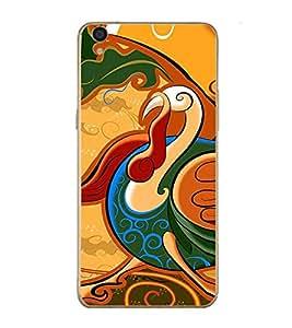 PrintVisa Designer Back Case Cover for Oppo F1 Plus :: Oppo R9 (Cute Creative Bird Graphical Design)