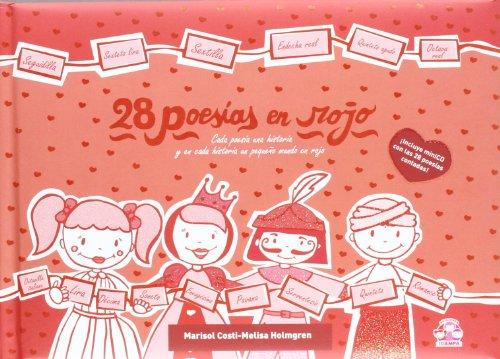 28 poesías en rojo