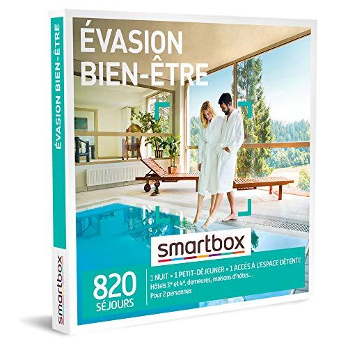 SMARTBOX - Coffret Cadeau femme homme couple - Évasion bien-être - idée cadeau -...