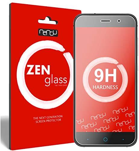 ZenGlass Flexible Glas-Folie für ZTE Blade V6 Panzerfolie I Bildschirm-Schutzfolie 9H I (Kleiner Als Das Gewölbte Bildschirm)