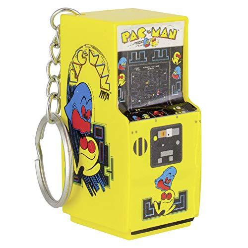 Paladone PAC-Man Schlüsselanhänger Mini Spielautomat Arcade