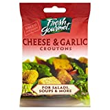 Fresh Gourmet Cheese and Garlic Croutons 28g