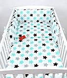 BABYLUX Bettwäsche Bezug 2 Tlg. 100 x 135 cm Kinderbettwäsche Bettwäsche Bettset Babybettwäsche (98. Sterne)