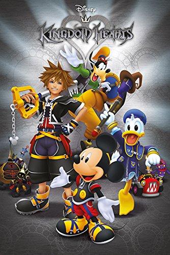 Disney Kingdom Hearts 'Classic' Maxi Poster, 61 x 91.5 cm, Mehrfarbig
