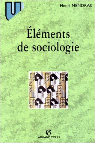 Éléments de sociologie, 5e édition